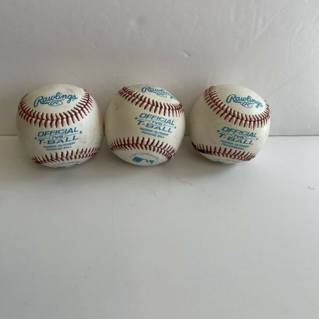 Rawlings Youth Tball or Training Baseball, Box Lot of 3 T-balls