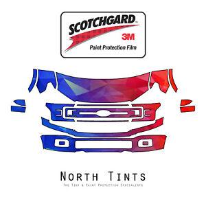 Ford-F-150-2018-2020-PreCut-3M-Scotchgard-Paint-Protection-Film-Clear-Bra-PPF