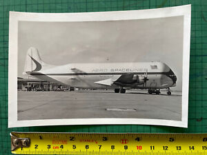 1 B&W Photo of (Aero Spacelines) Boeing 377 Guppy