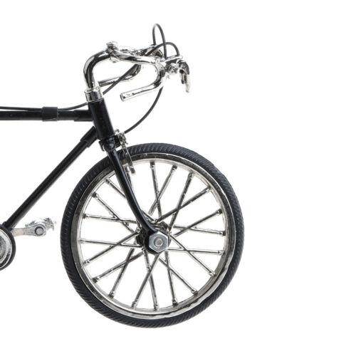 Zarte Miniatur Rennrad Modell Handwerk   1:10 Diecast Simulierte Rennrad