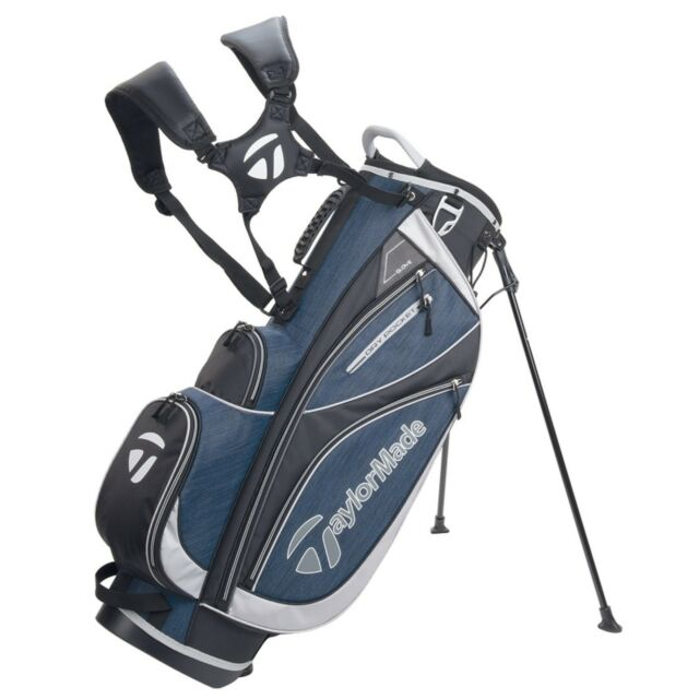 New 2018 Taylormade Classic Stand Bag Black Navy Sliver