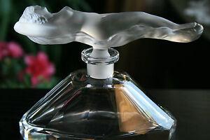 BOHEMIAN-ART-DECO-GLASS-PERFUME-BOTTLE-C-SCHLEVOGT-H-HOFFMANN-DESIGN