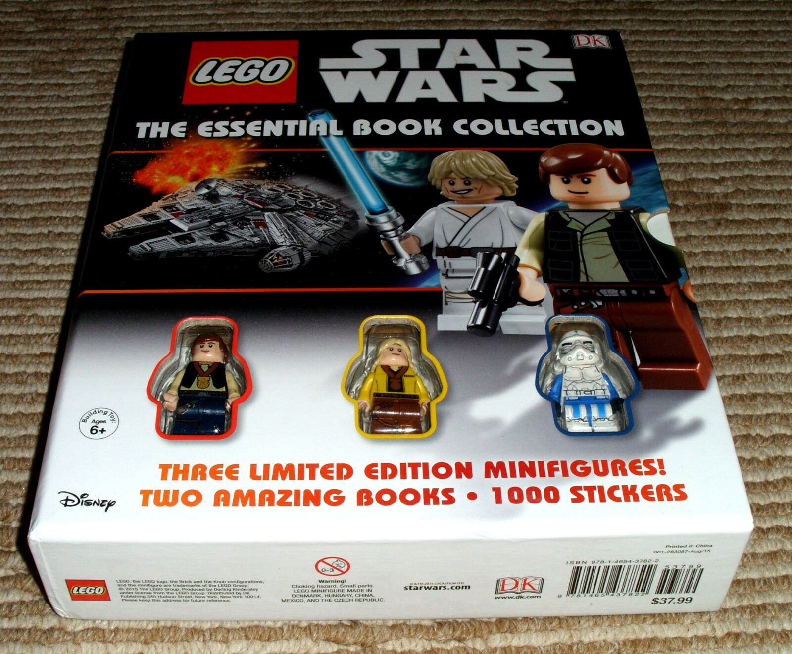 Lego Star Wars The Essentail Book Collection  New w 3 MiniFigures  HTF