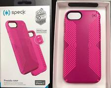 "New Original Speck Presidio Grip Lipstick Pink Cover Case for iPhone 7 (4.7"")"