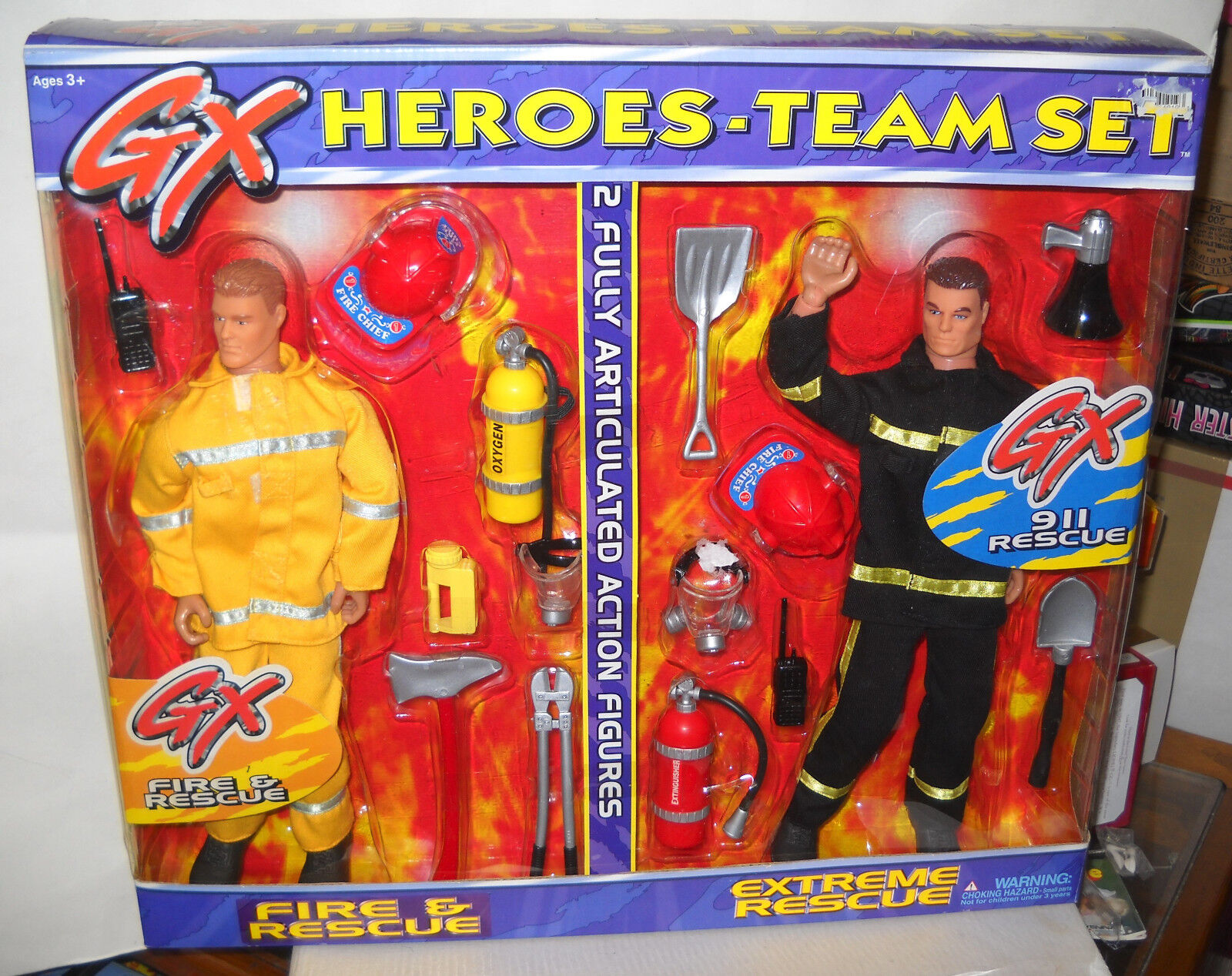 4362 Placo Generation Extreme Heroes Fire & Rescue & Extreme Rescue Team Set