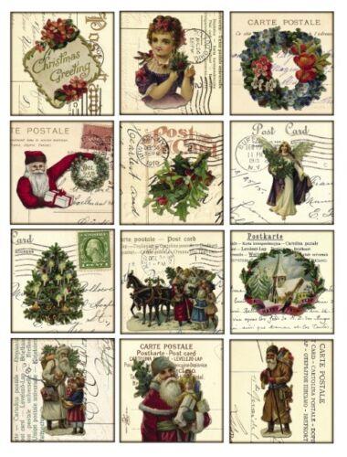 Aufkleber-Möbeltattoo-transparent-Sticker-Shabby-Vintage-Weihnachten-1063