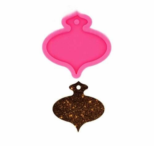 Glossy Christmas Gift Bag Keychain Epoxy Resin Molds Jewelry Making Custom Silic