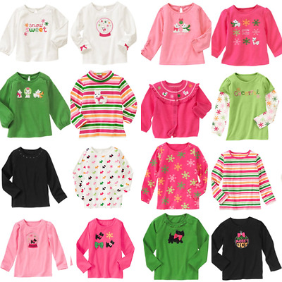Gymboree NWT CHEERY ALL THE WAY Tee Top Shirt Green Wreath 2 2T 3 3T 4 4T 5 5T