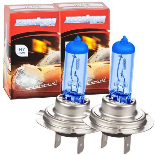 Xenon Look cruce lámparas h7 en Vision Blue para VW Touran