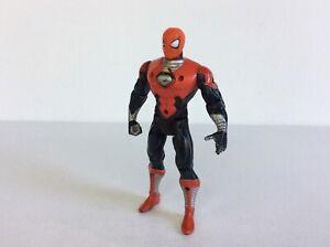 SPIDER-MAN TECHNO WARS SPIDER-MAN (Radioactive Armor) Figure, Marvel Toybiz 1995