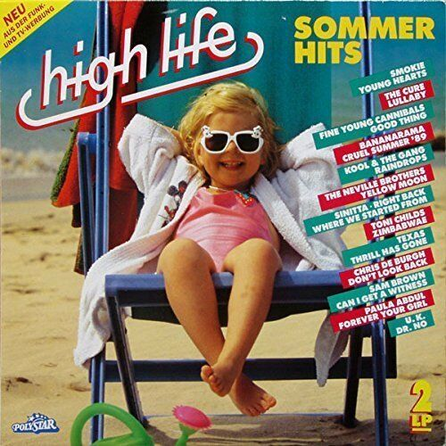 High Life-Sommer Hits 1989:Fine Young Cannibals, UK, Bananarama, Cure, .. [2 LP]