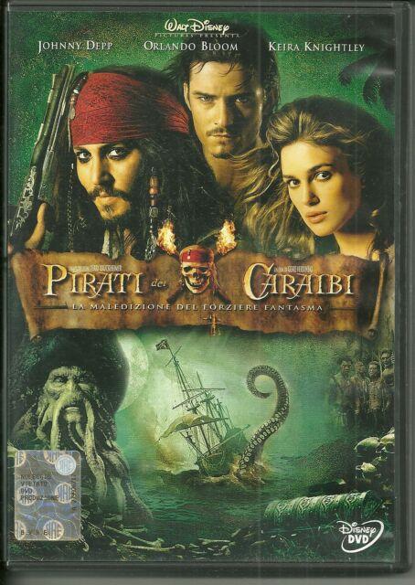 DVD Pirati dei Caraibi: la maledizione del forziere fantasma. Johnny Depp