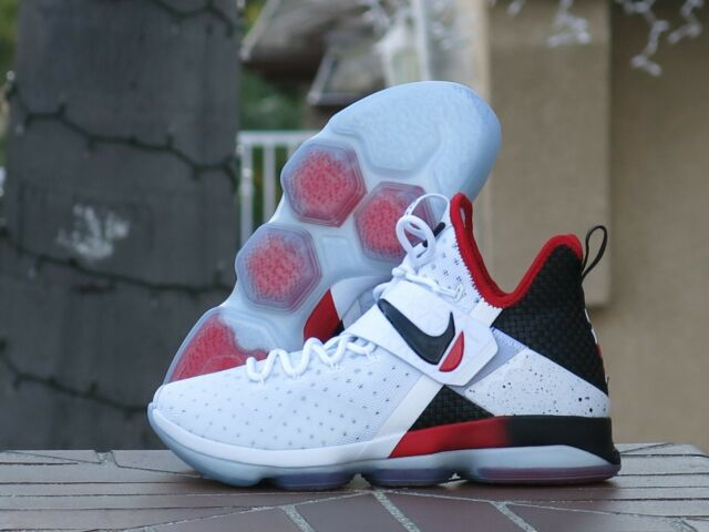 0793ae87cbbe Nike Lebron XIV Flip The Switch Basketball Shoes Size 13 Black Red ...