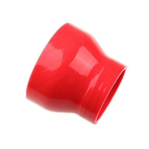 "3 Ply 3.5/"" To 2.5/'/' Straight Reducer Silicon Hose Coupler Pipe Red 76.2mm Length"