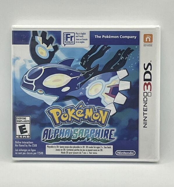 Nintendo 3DS Pokémon Alpha Sapphire Brand New Sealed Game 2DS Canadian Seller