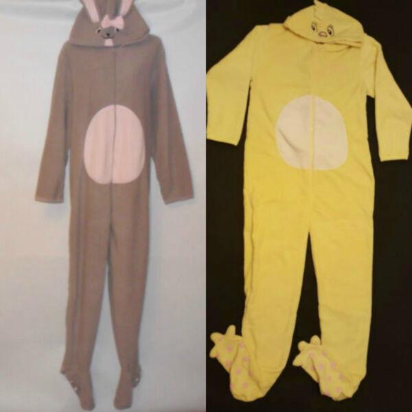 100% Verdadero Primark Señoras Pascua Adulto Todo En Uno Dormir Suit Pijama Con Capucha De Piqueros De Patas Pijamas-ver Ganancia PequeñA