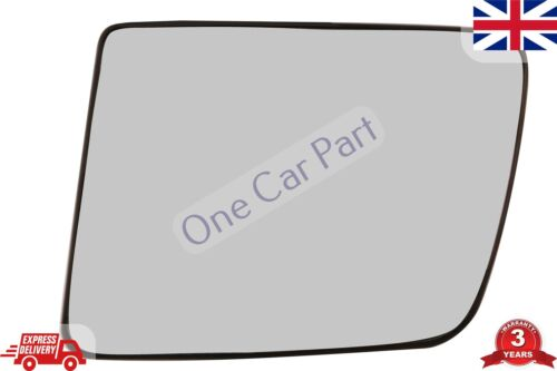 LEFT SIDE MANUAL CONTROL WING MIRROR GLASS FOR TRANSIT CONNECT 2009-2014