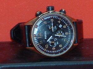 Pre-Owned-Men-s-Fossil-Flight-CH-2783-Chronograph-Analog-Quartz-Watch