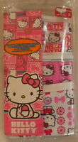 Hello Kitty Girls 3 Assorted Hipster Panty Underwear Size 6