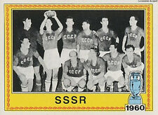 N°010 TEAM WINNER 1960 STICKER PANINI EUROPA 80 FIGURINE SSSR CCCP URSS