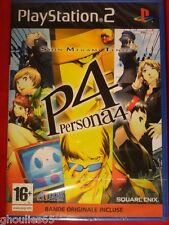 PERSONA 4 PLAYSTATION 2 NEUF BLISTER PERSONA 4 PS2 NEUF