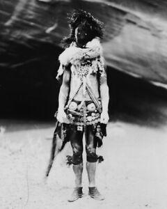 New-Native-American-Photo-Nayenezgani-Navaho-Indian-in-Mask-Costume-6-Sizes