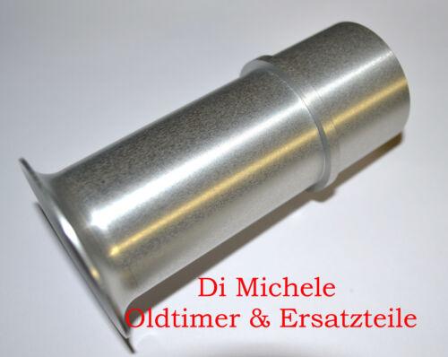 Ansaugtrichter Aluminium 75mm  für 40 DCOE Weber Vergaser 1-6 Stück, Air Horn