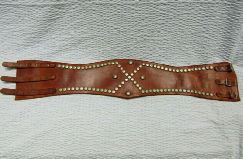 Antique Western Cowboy Cowgirl Rodeo Belt Extra Wi