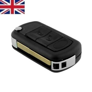 NEW-UK-Stock-Range-Rover-Sport-Land-Rover-Discovery-3-button-remote-key-fob-case