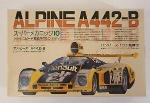 FUJIMI RENAULT ALPINE A442-B  1/24 MODEL KIT SM13-500