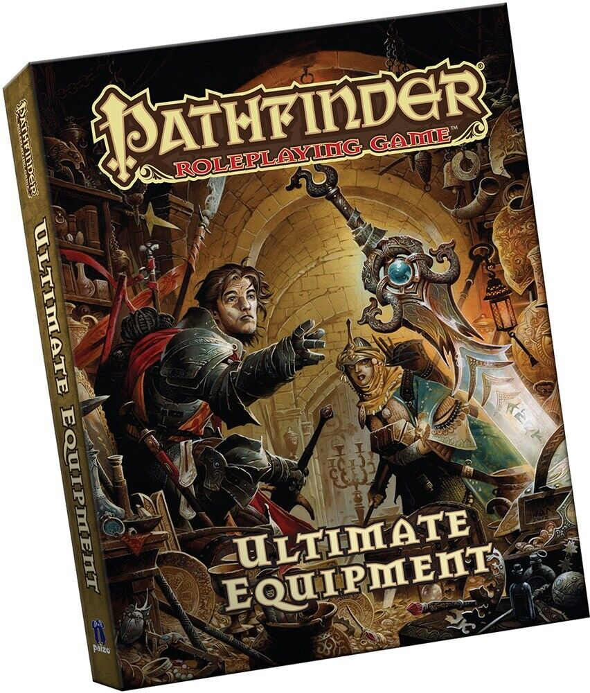 Pathfinder Roleplaying Game Ultimate Equipment Hard cover