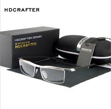 Men's Rimless Memory Titanium Glasses Rx Optical Eyeglasses Spectacles Frame Hot