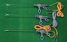 3pcs Laparoscopic Bipolar Maryland Roby Dissector Fenestrated Bipolar With Cable