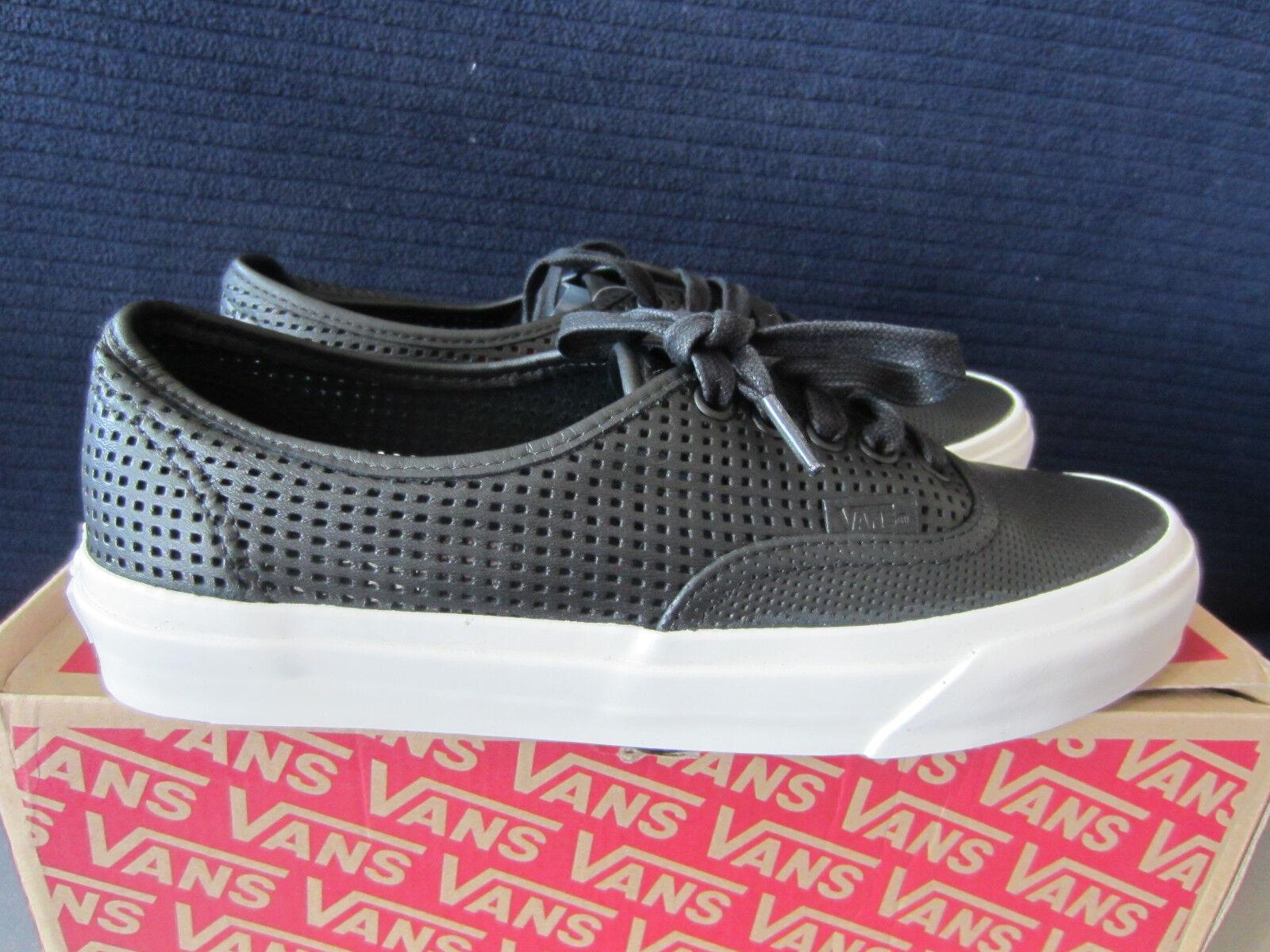 VANS Authentic DX Damen Sneakers Schwarz Gr. 40, 42. Neu und OVP
