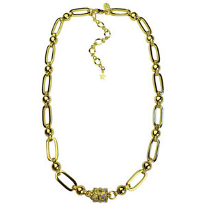 Kirks-Folly-NYC-Chain-Magnetic-Necklace-Goldtone-w-Kirks-Folly-Gift-Box