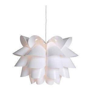 Special ikea knappa pendant lamp white ebay la imagen se est cargando especial ikea knappa lampara de techo blanco aloadofball Images