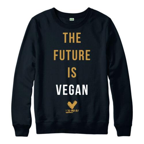 Vegan Jumper Veganuary Inspiring Vegetarians The Future Is Vegan Jumper Top