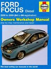 Ford Focus Diesel Service and Repair Manual: 2005 to 2009 by Martynn Randall (Hardback, 2009)