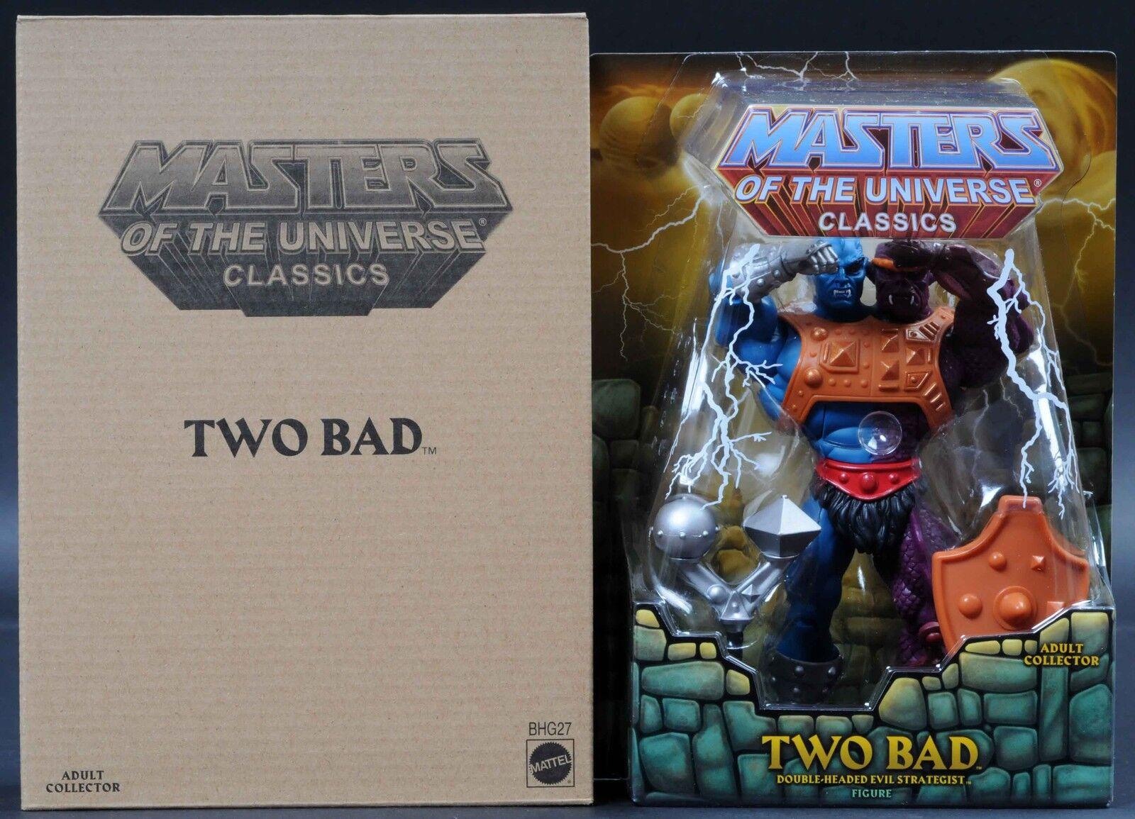 2014 Mattel Two-Bad MOTU MOTUC Masters of the Universe Classics MOC