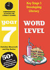Word Level: Year 7: Spelling Activities for Literacy Lessons by Christine Moorcroft, Ray Barker (Paperback, 2003)