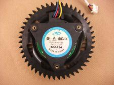 75mm VGA Video Card Fan  For HD 3870 x2  4870x2 CF1275-B30H-C005  4Pin 1.0A  259