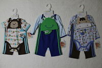 Vitamins Baby 4 Piece Set Creeper Hat Pants Socks Various Styles And Sizes
