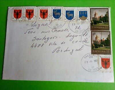 Briefmarken Methodisch Lettland Latvija From Portugal,2007 Fabriken Und Minen