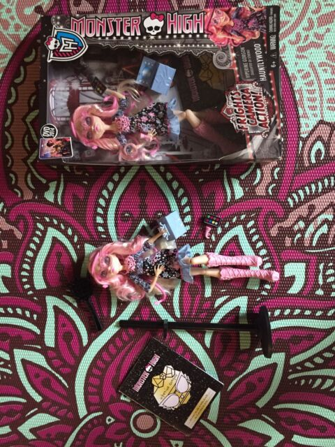 Monster High Frights, Camera, Action! Viperine Gorgon Doll In Box