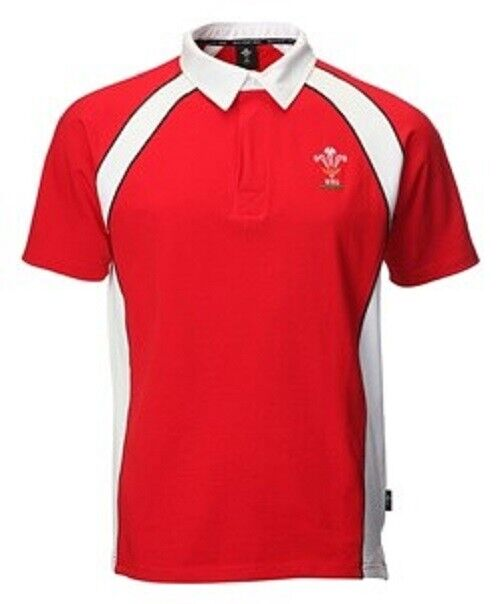 WRU Mens Official Wales Welsh Rugby Jersey Shirt