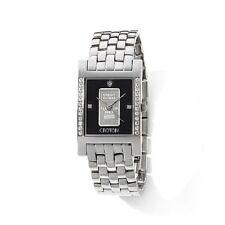 CROTON 1-gram 999.9 solid platinum ingot with Credit Suisse stamp Watch NWT