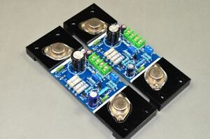 Assembled-PASS-5W-single-ended-gold-seal-Amplifier-board-class-A-amp-board