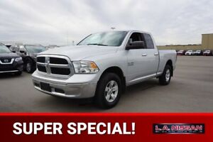 2016 RAM 1500 4X4 QUADCAB SLT Accident Free,  Bluetooth,