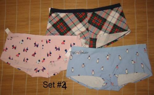 3 Gap Body Love by Gap Cotton Panties Girl Short Shorty Large L You choose set