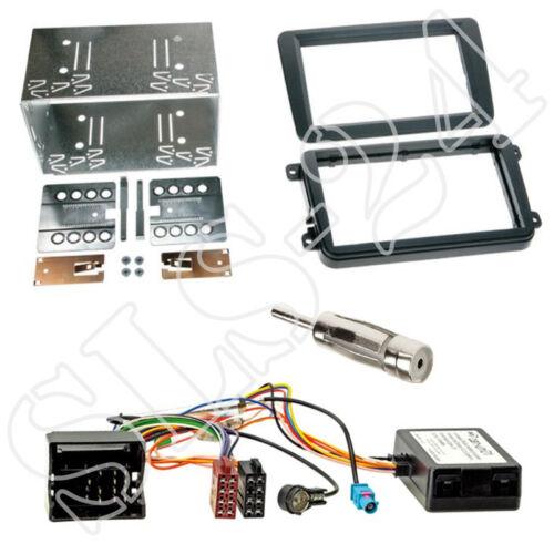 Skoda octavia ii 1z Roomster 5j doble DIN diafragma radio diafragma Can-Bus Interface